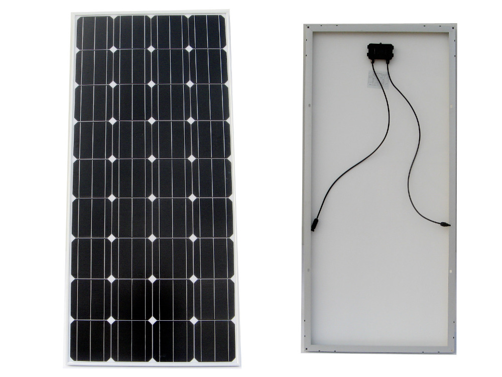 цена на 2PCS 150W 12V RV Mono Monocrystalline Solar Panel Solar Module for RV Boat Home Battery Charger
