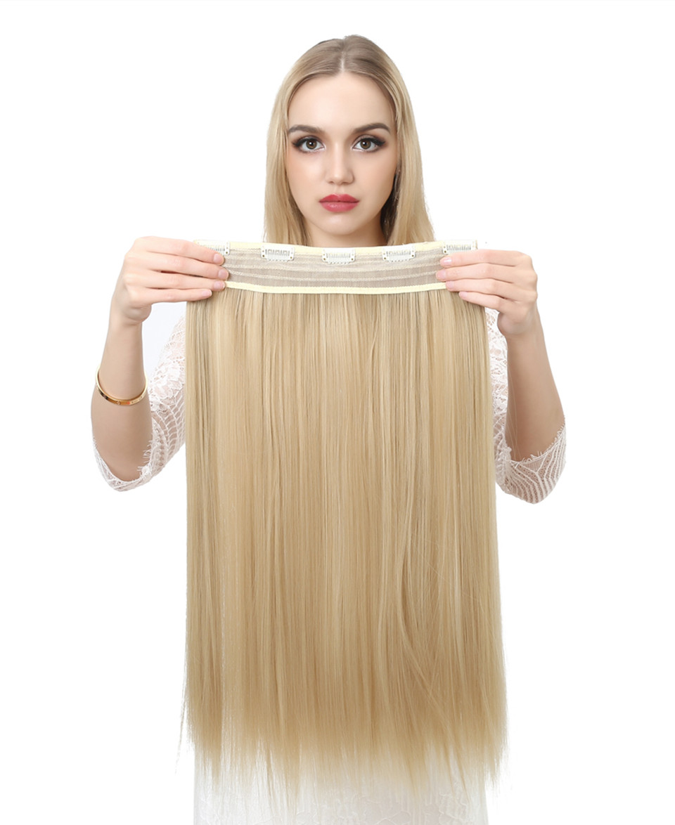 Women's 24in Straight Hair Extensions 8
