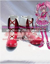Maßgeschneiderte Billig Pretty Cure Cure Melody Cosplay Stiefel Cosplay Schuhe Halloween(China)