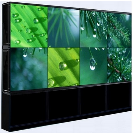 2x3 cabinet standing LCD video wall 46 inch Super slim LCD video wall with Ultra narrow splicing screen+brackets+software