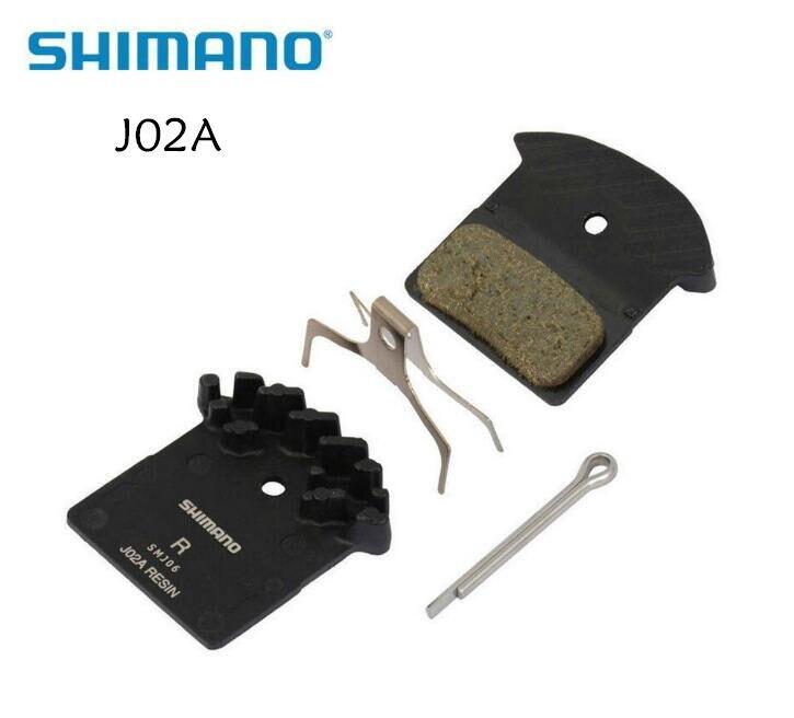 Shimano J02A resina aleta pastillas de freno de disco para SLX M666, M675, Deore XT M785, XTR M985, M988 y Alfine BR-S700, M8000 y M9000