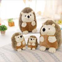 Criativo bonito ouriço brinquedo de pelúcia macio brinquedos animais de pelúcia boneca presentes para crianças