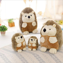 купить Creative Cute Hedgehog Plush Toy Soft Stuffed Animal Toys Plush Doll Gifts For Children Kids дешево