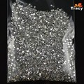 20000pcs 1.5mm 3d Silver Crystal Flatback Rhinestones Nail Art Studs Decorations DIY Gems Tips Stickers Manicure Tools NAO01