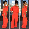 Adogirl Branco Rompers Mulheres Jumpsuit Longo Pant 2017 Verão Rompers Mulheres Two piece Outfits Macacão Sexy Oco Out Clube Macacão