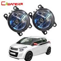Cawanerl 2 X 100W H11 Car Halogen Bulb Fog Light Daytime Running Lamp DRL 12V For