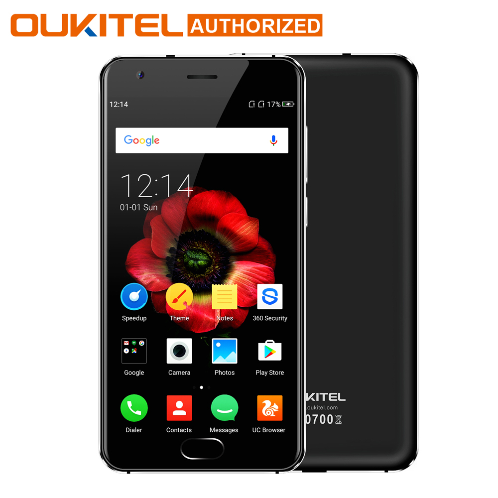 OUKITEL K4000 Plus 5'' Android 6.0 MTK6737 Quad Core 1.5GHz 2GB RAM 16GB ROM 13.0MP+5.0MP 4100mAh Touch TD 4G Mobile Phone