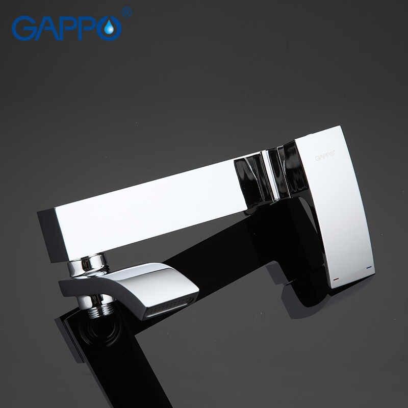 GAPPO バスタブの蛇口真鍮バスミキサーシャワーの蛇口浴室浴槽の蛇口セット浴室の滝タップミキサー torneira