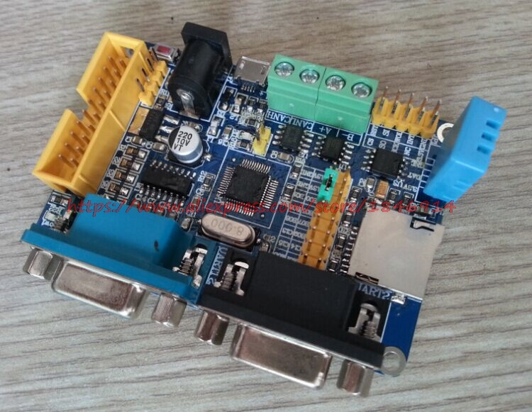 Free Shipping   STM32F103C8T6 Development Board RS485 DHT11 CAN Temperature And Humidity 2 TF RS232