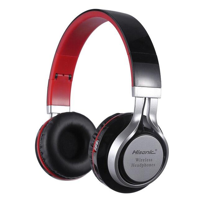 Hisonic Sans Fil Bluetooth Casque Casque Pliable Durable écouteur