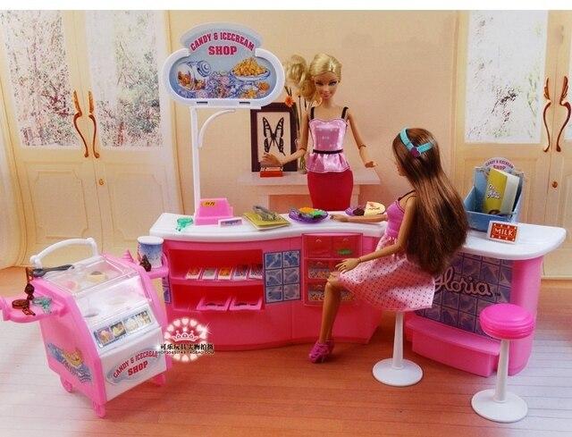 Jeux De Cuisine Barbie | Restaurant Pour Barbie Princesse Cadeau Ensemble Grande Villa De