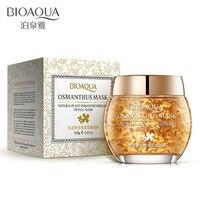 BIOAQUA Osmanthus Face Mask Acne Treatment Moisturizing Skin Care Anti Aging Whitening Beauty Sleeping Mask Depth