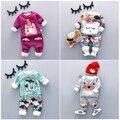 2016 детская зимняя одежда набор новый стиль мода высокое качество baby boy одежда с характером печати мальчиков теплые наборы A010