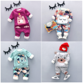 2016 baby winter clothing set new fashion style high quality baby boy clothes with character print boys warm sets A010
