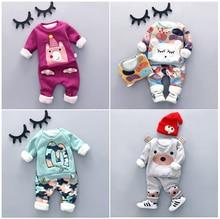 2016 bébé ensemble de vêtements d'hiver nouveau style de mode de haute qualité bébé garçon vêtements avec caractères imprimer garçons ensembles chauds A010