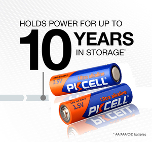 Image 3 - 20 PCS PKCELL AA Batterij 1.5 V LR6 AA Alkaline Batterij 2A E91 AM3 Enkele Gebruik Batterij Batterijen Bateria