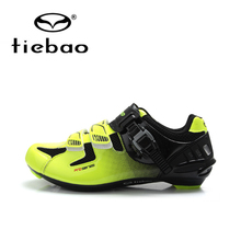 Teibao Cycling Shoes Men Road Sports Shoes Bike Cycle Bicycle Riding Athletic Self-Locking Shoes sapatilhas ciclismo sapatos