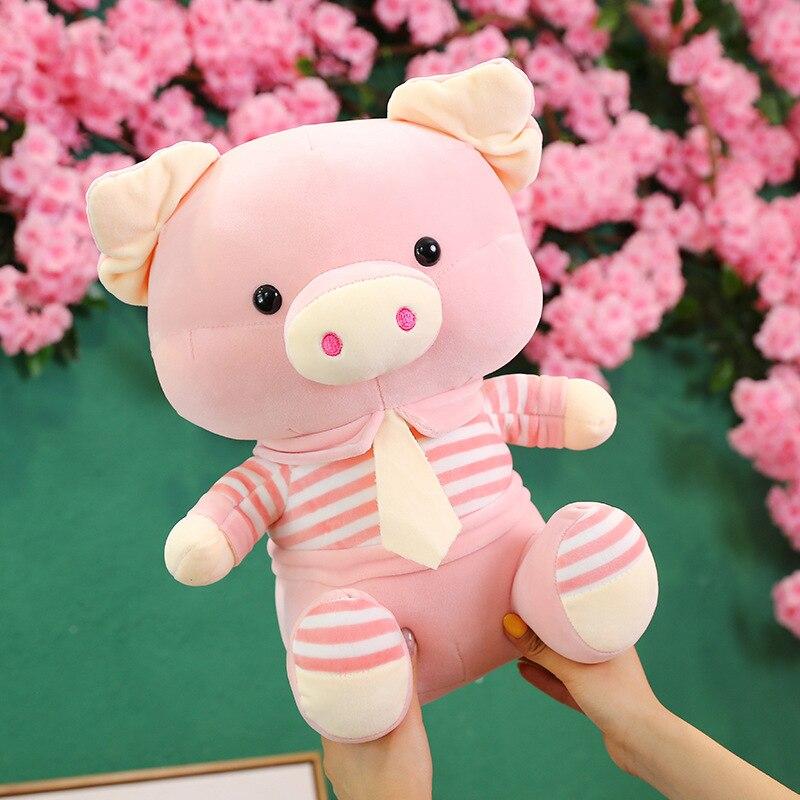 Stuffed animals plush soft kawaii plush pig Kid toys children sleeping with companion toys girl gifts pig plush soft doll