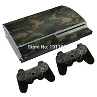 OSTSTICKER Vinyl Decal Skin Sticker for PS3 fat Console Skins+2PCS Stickers for PS3 fat Controller