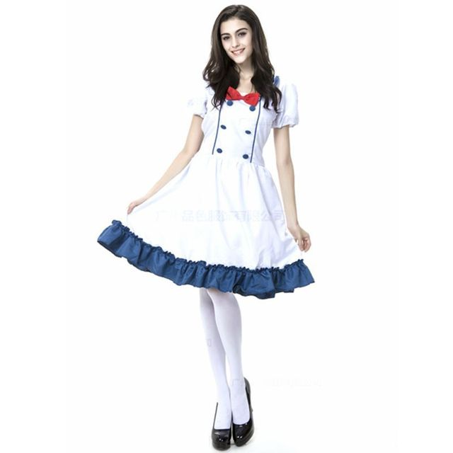 Maid Cosplay Dress Plus Size Carnival Halloween Costume For Women
