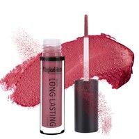6pcs Waterproof Matte Liquid Lipstick Moisturizer Smooth Lip Stick Long Lasting Lip Gloss Cosmetic Beauty Makeup