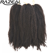 Braiding black Razeal curly