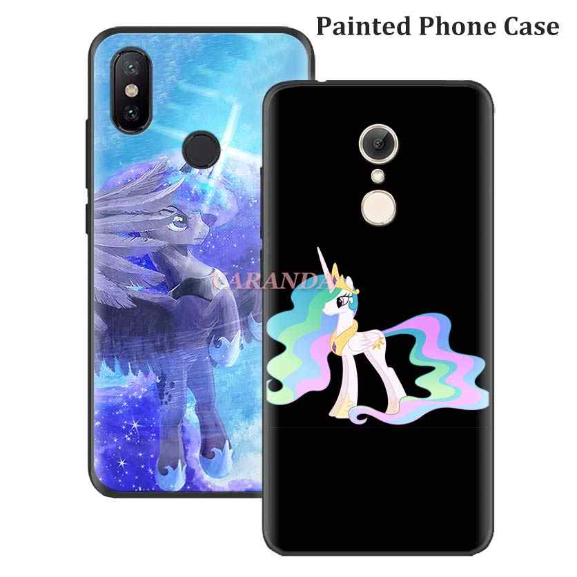 Мягкий чехол My Little Pony friendly для Redmi Note 7 5 6 Pro Redmi 7 7A K20 6 Pro 6A 5 Plus 4X S2 Y3 GO силиконовый чехол