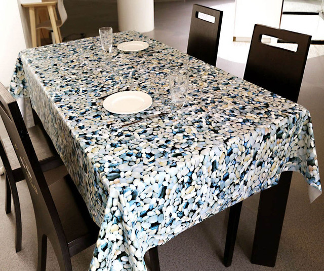 Superb Meijuner Heavy Weight Vinyl Rectangle Table Cover Wipe Clean Pvc Tablecloth  Oil Proof/waterproof