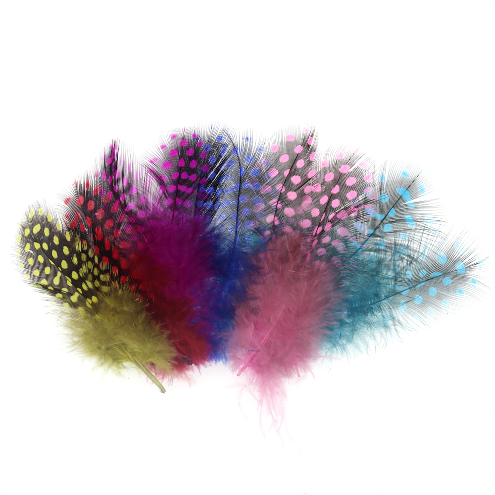 Purple Fly Tying Guinea Fowl Feathers