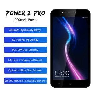 "Image 5 - LEAGOO POWER 2 PRO téléphone 5.2 ""HD Android 8.1 MTK6739 Quad Core 2GB RAM 16GB ROM 4000mAh double SIM empreinte digitale 4G LTE SmartPhone"