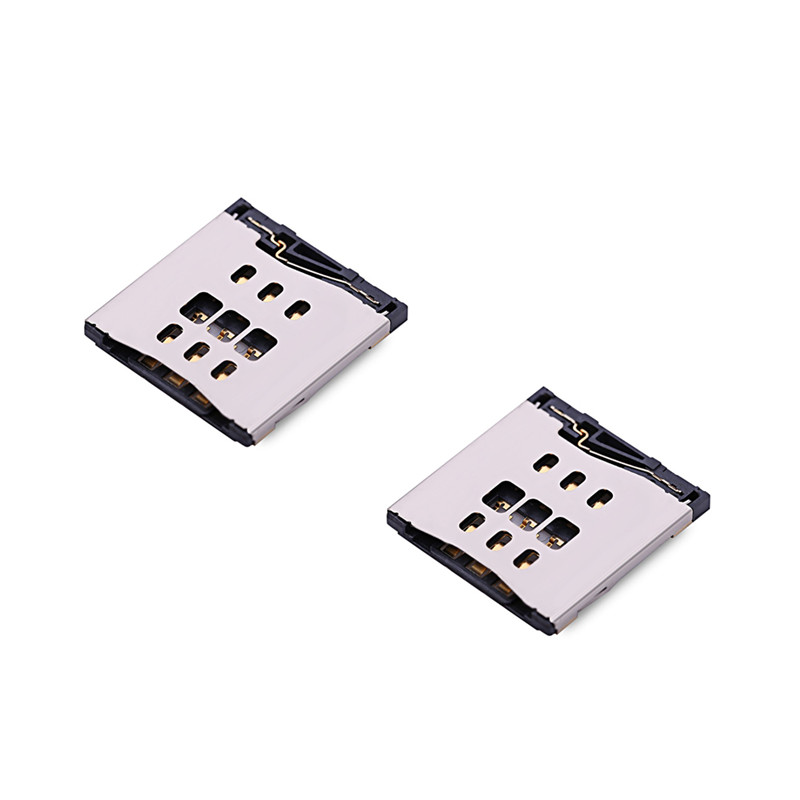 SIM Card Tray Slot Holder Reader Part For IPhone 4 4s 5 5S 5C SE 6G 6 6S Plus 4.7