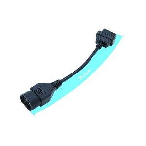Image 2 - 17 Pin do OBD 2 OBD II 16 złącze pinowe Deustch J1939 9pin dla człowieka 12 Pin Adapter 7 pin kabel przedłużający