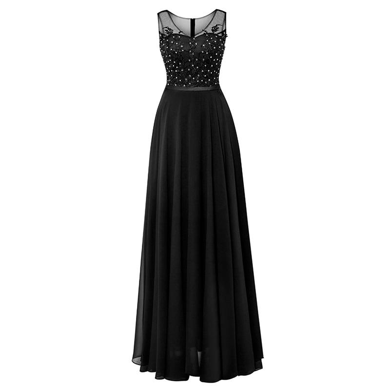 Tanpell μακρύ φόρεμα βραδιού σκουλαρίκια - Ειδικές φορέματα περίπτωσης - Φωτογραφία 3