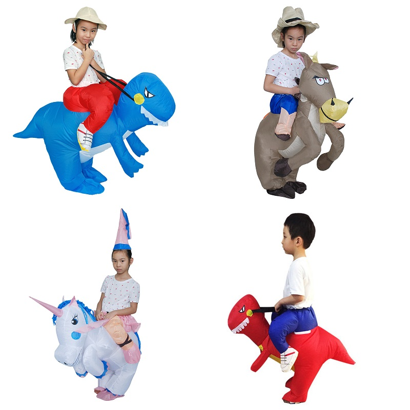 Dinosaur Costume Cartoon Doll Clothes Adult Children Halloween Performance Costume Sumo Inflatable Clothes Party Props