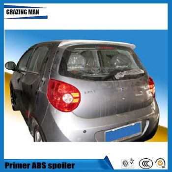 Hot Sale ABS Primer Unpainted Color Rear Roof Spoiler Fit For Chery Riich M1 Spoiler OEM Style