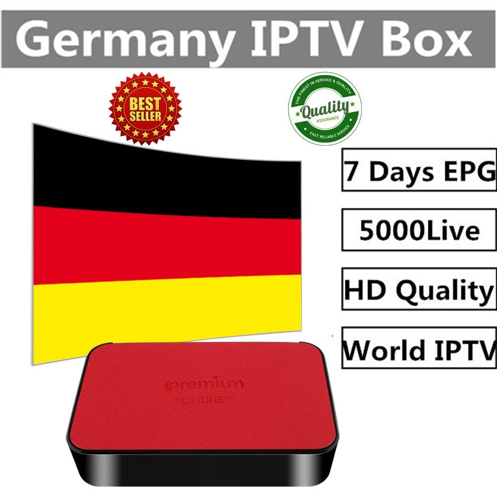 Ipremium TVonline IPTV коробка с 1 год голландский iptv Швеции Франции арабский Великобритания Германия Израиль да США Канада iptv Бесплатная доставка