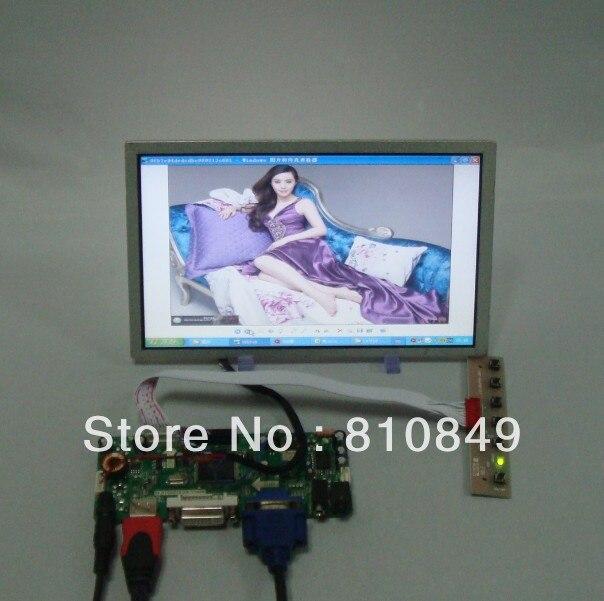 цены HDMI DVI VGA LCD Controller Board+8.9