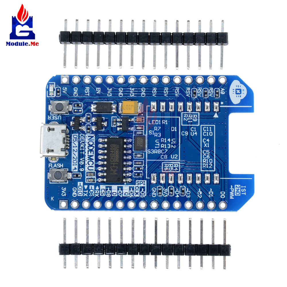 ESP-12E ESP-12F <font><b>ESP8266</b></font> WIFI Internet of Things <font><b>Adapter</b></font> Plate For Arduino CH340 CH340G Compatible Development <font><b>Board</b></font> NodeMCU image