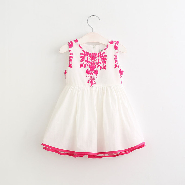 ac6c13482 2017 New Girls Dress Fashion Design Princess Party Dress Baby Girl ...