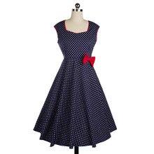 Frauen Vintage 50 S 60 S Schaukel Pinup Retro Cocktail Hausfrau Kleid