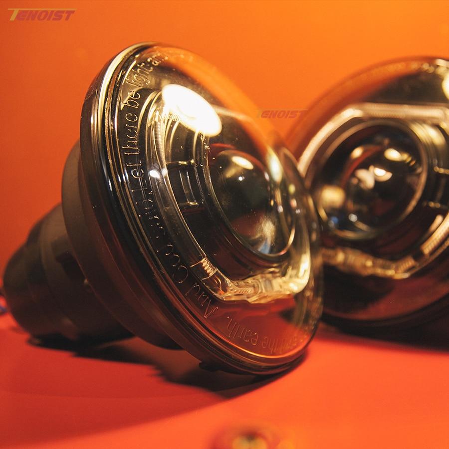 7 дюймов 35W спрятанный набор фары ый Хало с Hella Оптический объектив для защитника Вранглер Н2