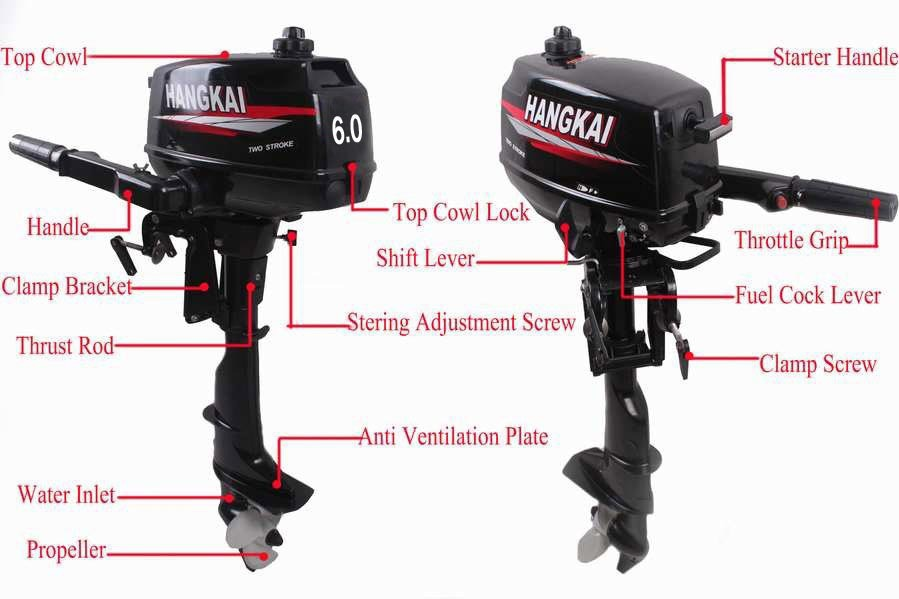 Factory price promotion hot brand new hangkai outboard for New boat motor prices