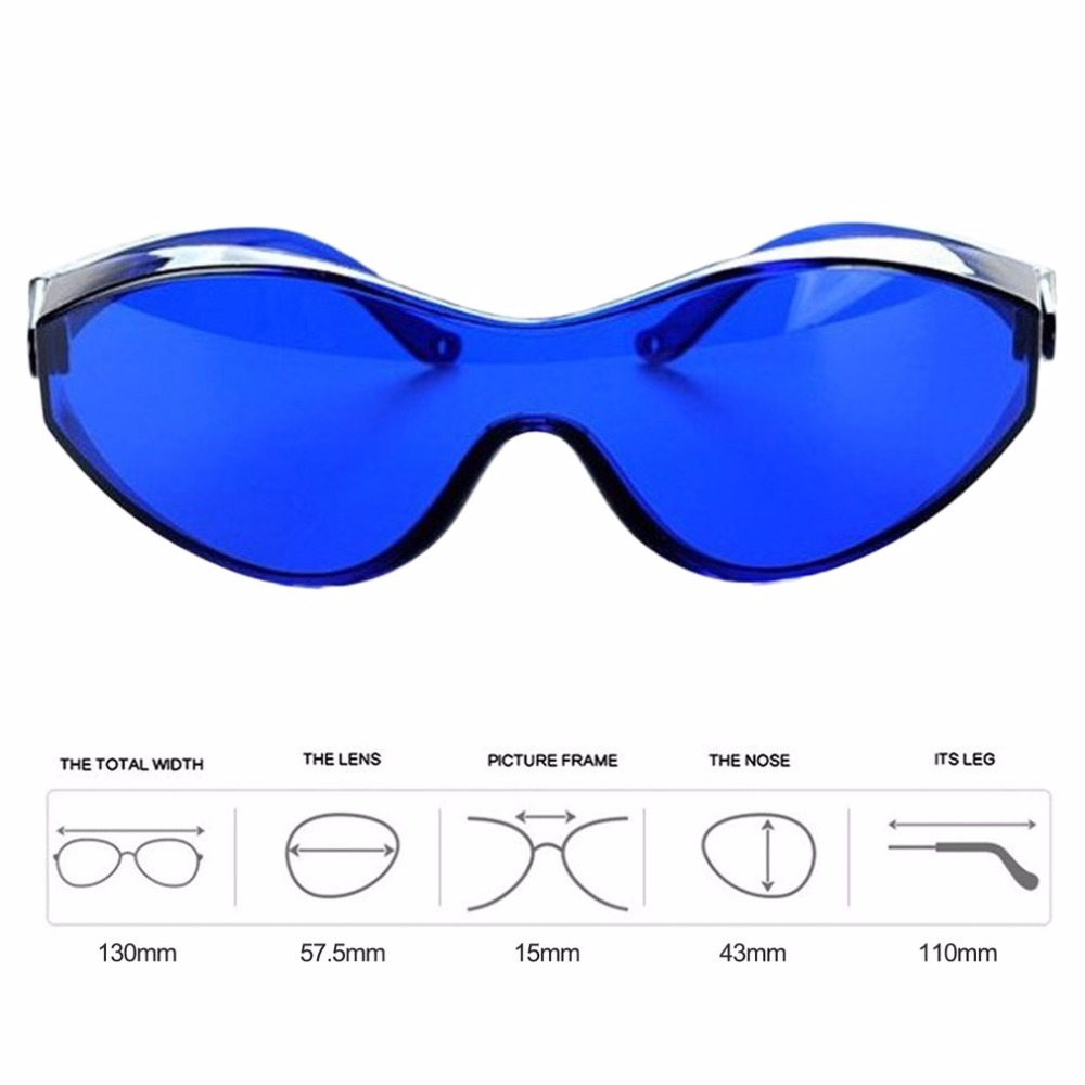 IPL Glasses For IPL Beauty Operator Safety Protective Eye Red Laser Color Light Safety Goggles Medical Patient Wide Spectrum