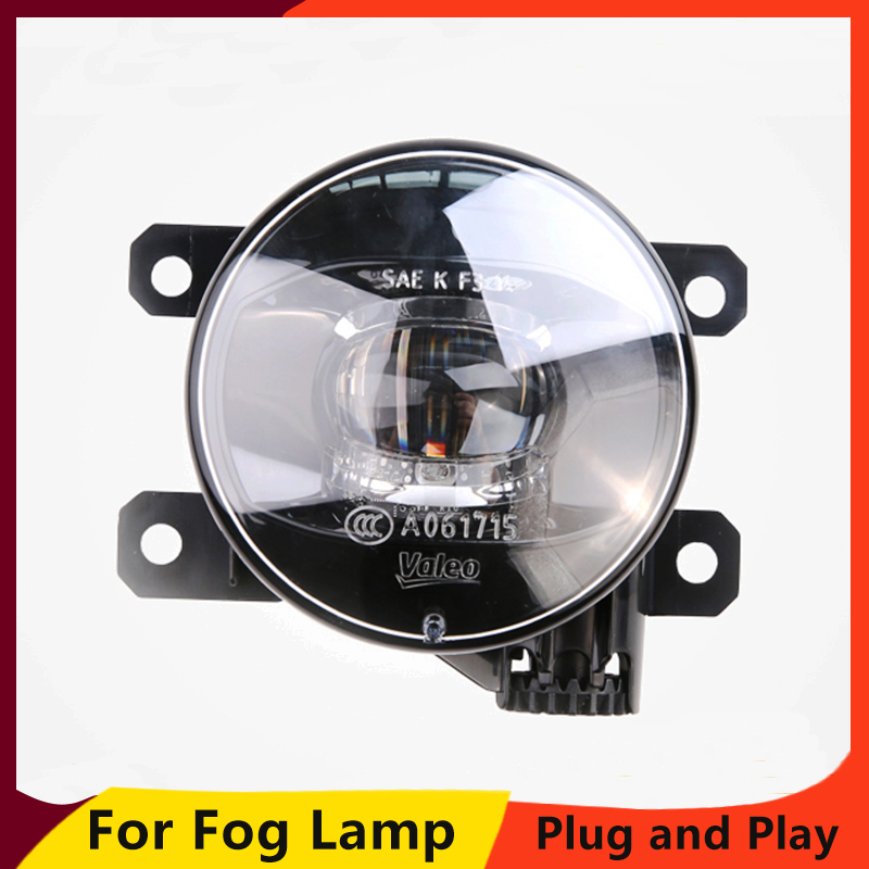 KOWELL Car Styling Fog Lamp for Ford focus fiesta Ecosport Mondeo <font><b>Mustang</b></font> <font><b>2015</b></font> <font><b>LED</b></font> Fog Light Auto Fog Lamp image