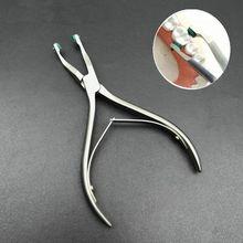 Dental Instrument Naar Crown Groene Pad Pre Kroon Verwijderen Tang Voor Dental Kroon Verwijderen Tang