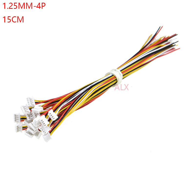 20 SETS Micro JST GH 1.25 2-Pin Male/&Female Connector plug with Wires Cables