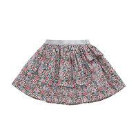 BOBORA 2 5 Years Old Girls Summer Fashion Pure Cotton Print Fabrics Exquisite Handmade Craft Short