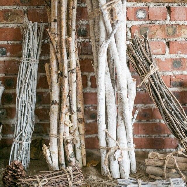American Village Natural Dried Tree Branch Sticks Bouquet Home Balcony Christmas Holiday Fl Arrangement Decor Firewood