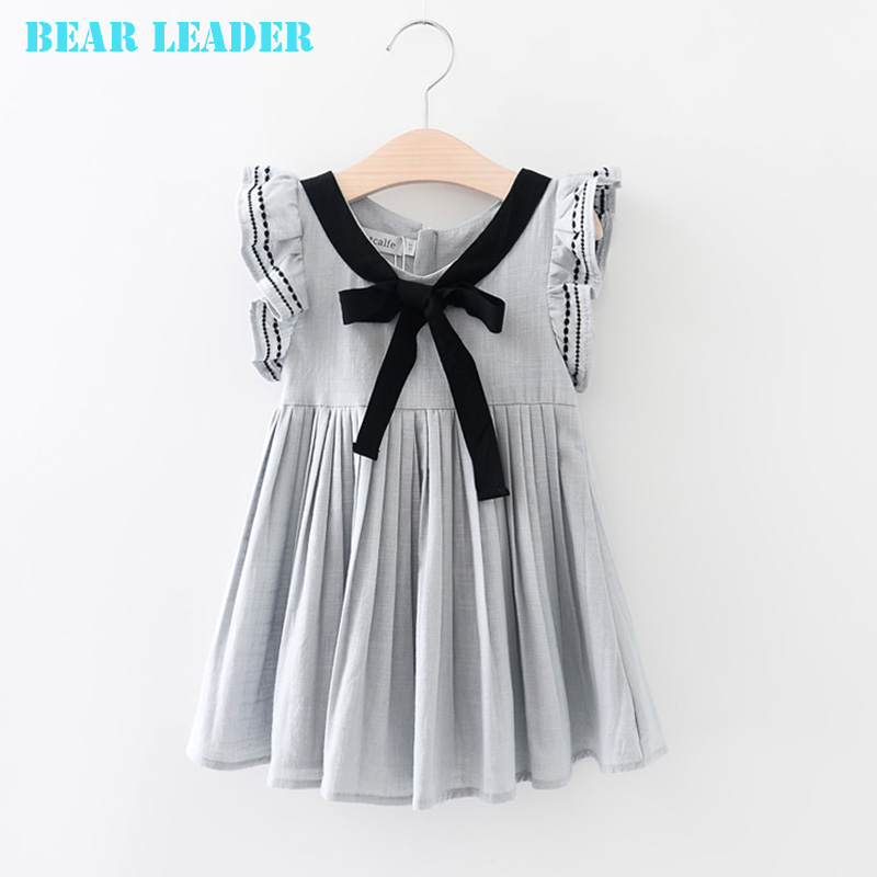 Подробнее о Bear Leader Princess Dress Girl Costume 2016 Brand Girls Dress Children Sleeveless Bow Straight Kids Dresses for Girls Clothes bear leader girl dresses 2016 brand girls costumes princess dress kids clothes sleeveless bow plaid pattern girls dress children