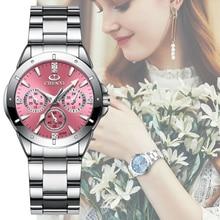 CHENXI 019A Women Fashion Luxury Watches Womens Quartz Wristwatches  Ladies Rhinestone Dial Clock Waterproof Reloj Mujer
